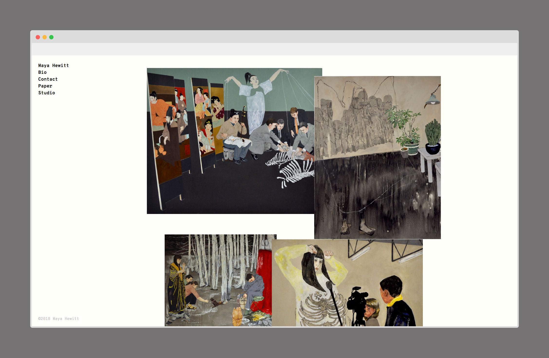 Maya Hewitt Portfolio Site
